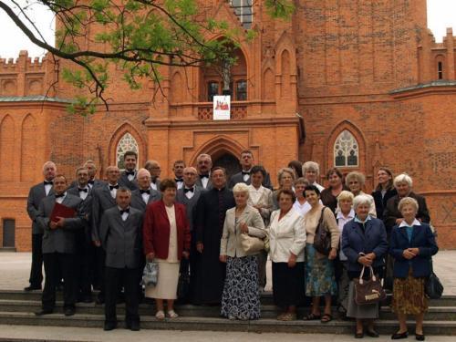 """Udział chóru """"Lutnia"""" we mszy świętej z okazji jubileuszu 600-lecia konsekracji Katedry Włocławskiej"""