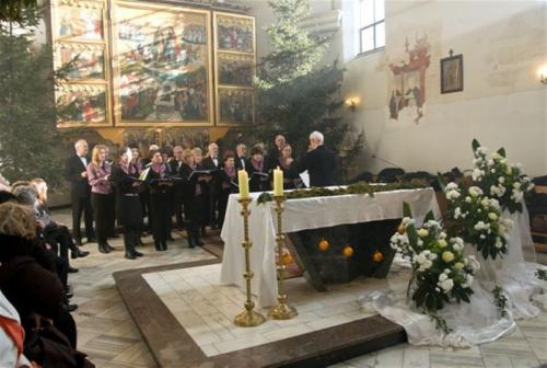 Kolędowanie w Kościele p.w. św. Mikołaja w Warcie
